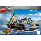 LEGO Baryonyx Dinosaur Boat Escape Set 76942 Instructions