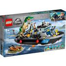 LEGO Baryonyx Dinosaur Boat Escape Set 76942 Packaging