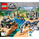 LEGO Baryonyx Face-Off: The Treasure Hunt Set 75935 Instructions