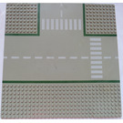 LEGO Baseplate 32 x 32 Road 9-Stud T-Junction with Crosswalk