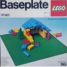 LEGO Baseplate, Green Set 745