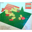 LEGO Baseplate, Green Set 840