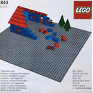 LEGO Baseplate, Grey Set 843