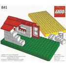 LEGO Baseplates, Green and Yellow Set 841