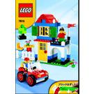 LEGO Basic Blue Bucket Set 7615 Instructions