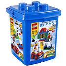 LEGO Basic Blue Bucket Set 7615 Packaging