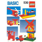 LEGO Basic Building Set, 5+ Set 530-1 Instructions