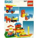 LEGO Basic Building Set, 5+ Set 547 Instructions