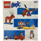 LEGO Basic Building Set, 5+ Set 565-2 Instructions