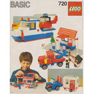 LEGO Basic Building Set, 7+ Set 720-1 Instructions