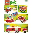 LEGO Basic Building Set, 7+ Set 735