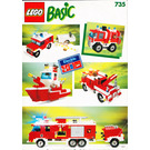 LEGO Basic Building Set, 7+ Set 735 Instructions