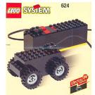 LEGO Basic Motor, 9V Set 624