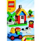 LEGO Basic Red Bucket Set 7616 Instructions
