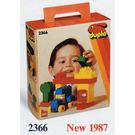 LEGO Basic Set House and Car 2366