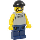 LEGO Basketball Player with Light Gray Torso Minifigure