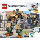 LEGO Bastion Set 75974 Instructions