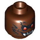 LEGO Bat Head (Safety Stud) (3626 / 10807)