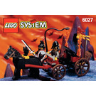 LEGO Bat Lord's Catapult Set 6027 Instructions