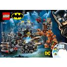 LEGO Batcave Clayface Invasion Set 76122 Instructions