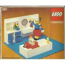 LEGO Bathroom Set 261-1