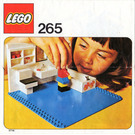 LEGO Bathroom Set 265-1 Instructions