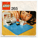 LEGO Bathroom Set 265 Instructions