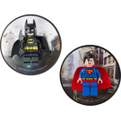 LEGO Batman and Superman magnets (5002826)