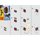 LEGO Batman in the Phantom Zone Set 30522 Instructions