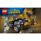 LEGO Batman: The Attack of the Talons Set 76110 Instructions