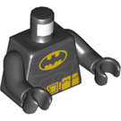 LEGO Batman Torso with Yellow Oval Crest and Yellow Belt (76382 / 88585)
