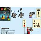LEGO Batman vs. The Penguin & Harley Quinn Set 40453 Instructions
