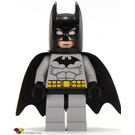 LEGO Batman with Medium Stone Gray Suit and Black Mask Minifigure