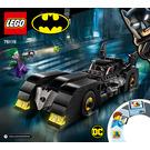 LEGO Batmobile: Pursuit of The Joker Set 76119 Instructions