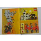 LEGO Battering Ram Set 6062 Instructions