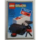 LEGO Battery Motor, 9V Set 845 Instructions