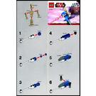 LEGO Battle Droid on STAP Set 30004 Instructions