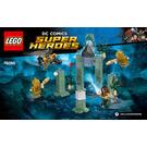LEGO Battle of Atlantis Set 76085 Instructions