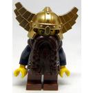 LEGO Battle Pack Dwarf with Dark Brown Beard Minifigure