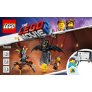 LEGO Battle-Ready Batman and MetalBeard Set 70836 Instructions