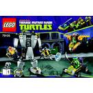 LEGO Baxter Robot Rampage Set 79105 Instructions
