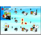 LEGO BBQ Stand Set 8398 Instructions