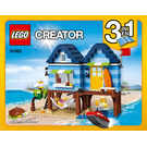 LEGO Beachside Vacation Set 31063 Instructions