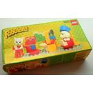 LEGO Beauty Salon Set 3623 Packaging