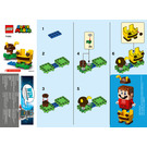 LEGO Bee Mario Power-Up Pack Set 71393 Instructions