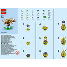 LEGO Bee Set 40211 Instructions