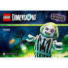 LEGO Beetlejuice Fun Pack Set 71349 Instructions