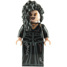 LEGO Bellatrix Lestrange with Black Dress and Long Black Hair Minifigure