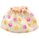 LEGO Belville Adult Short Fabric Skirt with Starfish and Clam Decoration