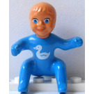 LEGO Belville Baby with Duck Pattern Minifigure
